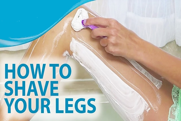 How to Shave Your legs For Beginners Featured Image