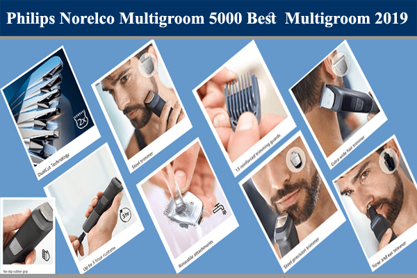 Philips Norelco Multigroom 5000 Review: Best Multigroom Trimmer 2019