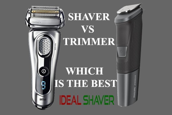 SIGNIFICANT DIFFERENCE BETWEEN ELECTRIC SHAVER VS TRIMMER 2020