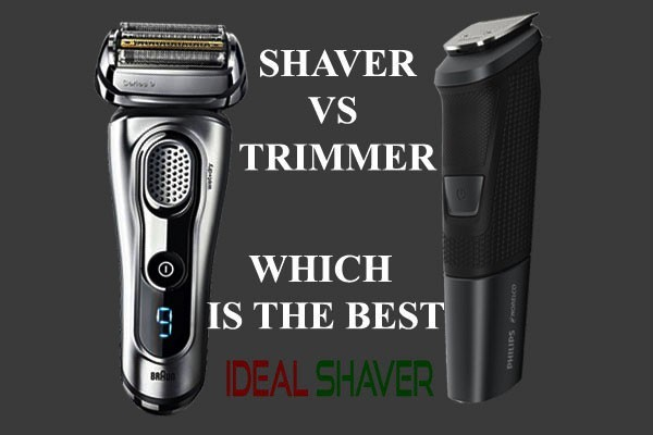 ELECTRIC SHAVER VS TRIMMER DIFFERENCE