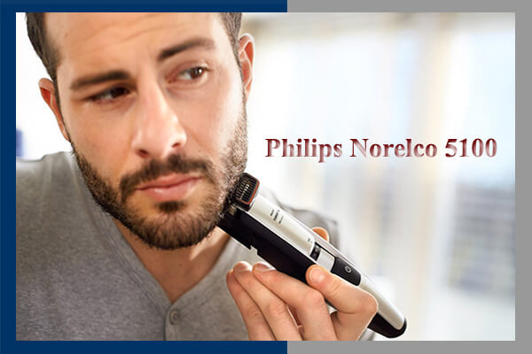 Philips Norelco Beard Trimmer 5100 Review: Electric Beard Trimmer and Shaver