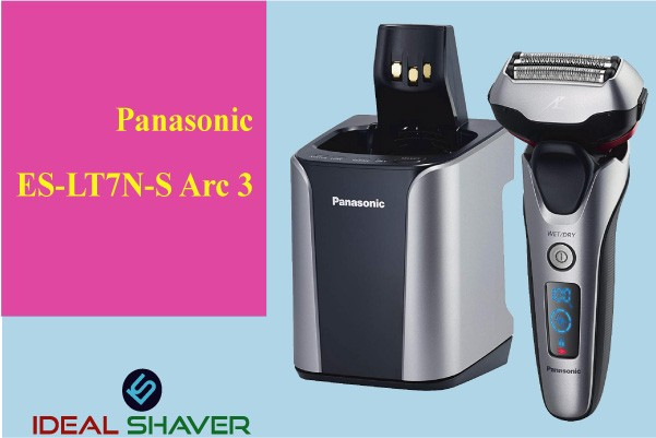 Panasonic-ES-LT7N-S-Arc-3 -Blade Electric Shaver System for Close Shave
