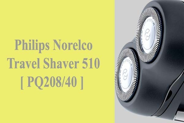 Philips Norelco Travel Shaver 510 PQ208