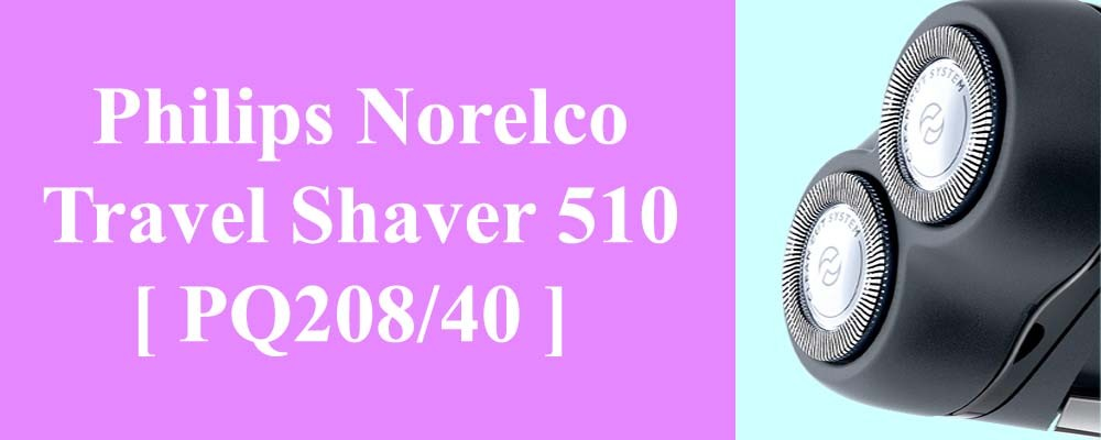 Philips Norelco Travel Shaver 510