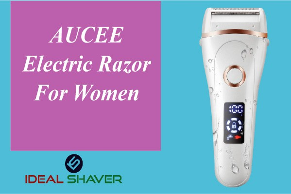 AUCEE Electric Razor For Women Pubic Area