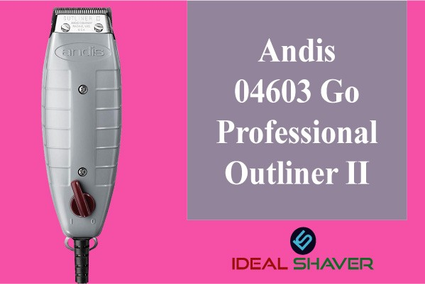 Andis 04603 Professional Outliner II Square Blade Trimmer