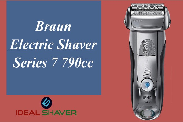 Braun Electric Shaver, Series 7 790cc for Sensitive Skin