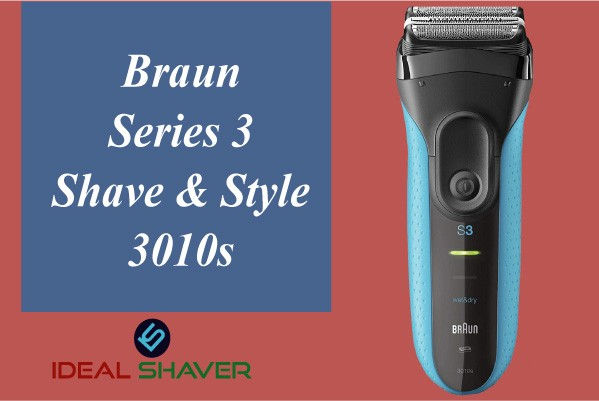 Braun Series 3 Shave & Style 3010BT for Sensitive Skin