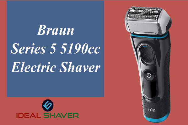 Braun Series 5 5190cc Electric Shaver for Sensitive Skin