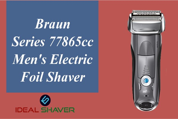 Braun Series 7 7865cc for Sensitive Skin