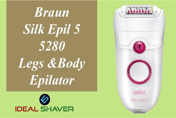 Braun Silk Epil 5 5280 Legs And Body Epilator