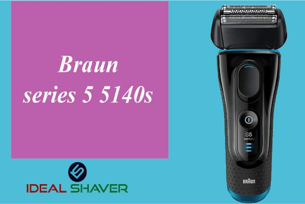 Braun series 5 5140s elderly man