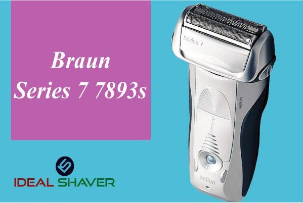 Braun series 7 7893s for elderly man