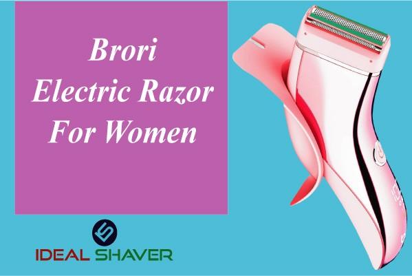 brori electric razor for women Pubic shaver