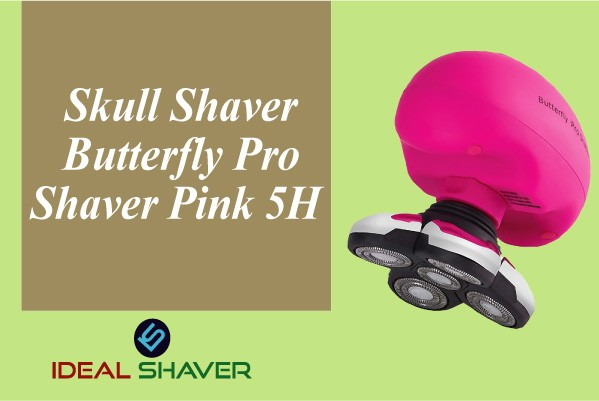 Butterfly Pro Shaver Pink 5H By Skull Shaver