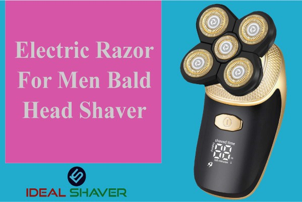 Electric Razor For Men 5 in 1 Bald Head Shaver