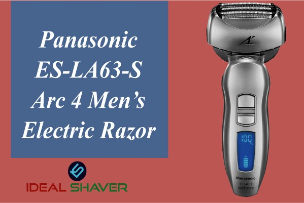 Panasonic ES-LA63-S Arc 4 Men's Electric Razor for Sensitive Skin