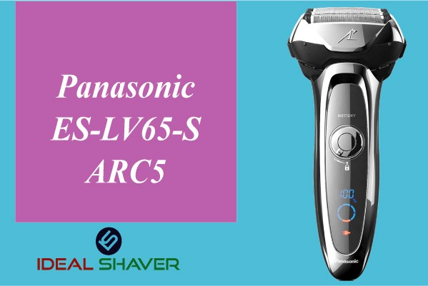 Panasonic ES-LV65-S ARC5 for elderly skin