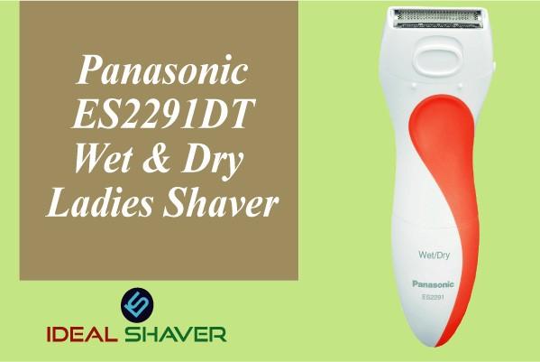 Panasonic ES2291DT Wet Dry Ladies Shaver