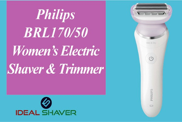 Philips BRL170 Women's Electric Shaver & Trimmer best for pubic area