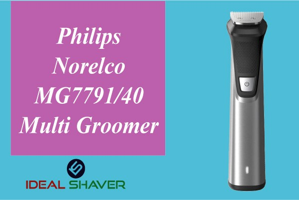 Philips Norelco MG7791-40 Multi Groomer for old man