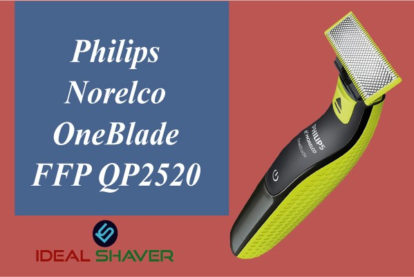 Philips Norelco OneBlade FFP QP2520 for Sensitive Skin