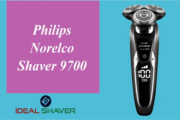 Philips Norelco Shaver 9700 for aged man