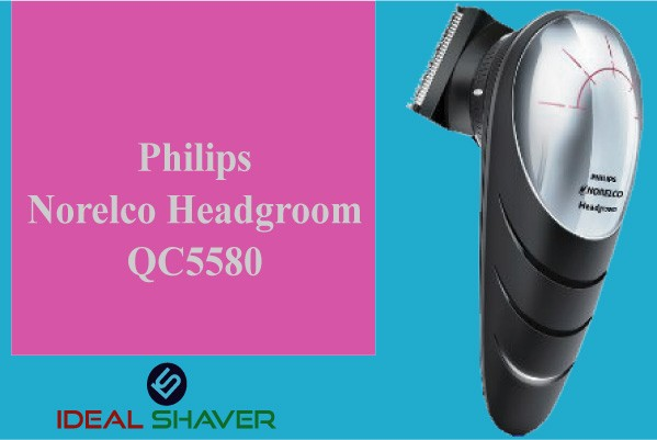 Philips Norelco headgroom Qc5580 best head & face shaver