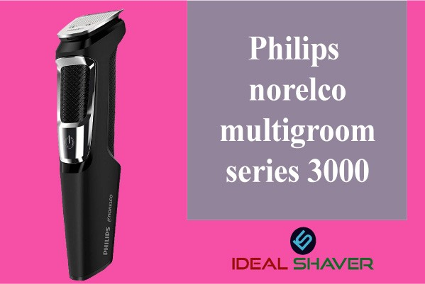 Philips norelco multigroom series 3000 for fades