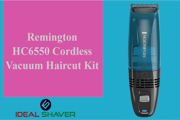 Remington Hc6550 Cordless Vacuum Haircut Kit perfect shaver