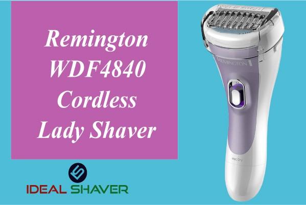 Remington WDF4840 Cordless Lady pubic Shaver