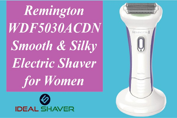 Remington WDF5030ACDN Smooth & Silky Electric Shaver for Women pubic shaver