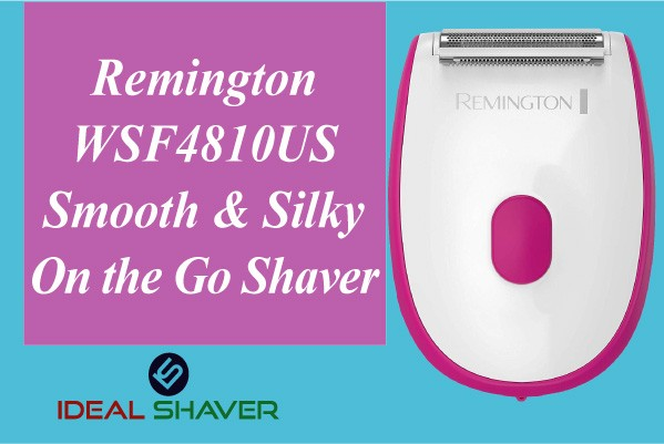 Remington WSF4810US Smooth & Silky On the Go Shaver for privet area