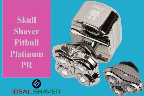 Skull Shaver Pitbull Platinum PR For best Head shaver