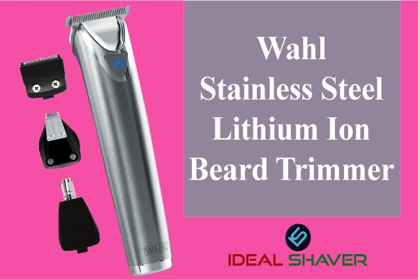 Wahl Stainless Steel Lithium Ion+ Beard Trimmer