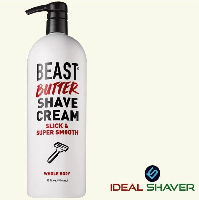 Beast Butter Whole Body Shave Cream