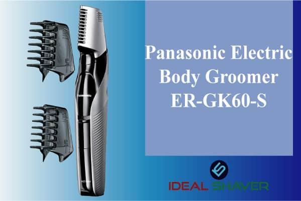 Panasonic Electric Body Groomer-ER-GK60-S