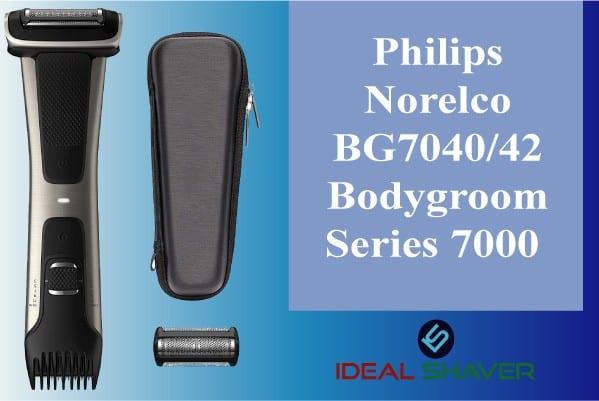 Philips Norelco BG7040-42 trimmer for balls