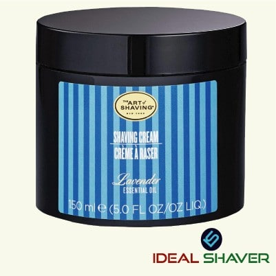 The Art of Shaving Cream,Lavender, 5 Fl Oz