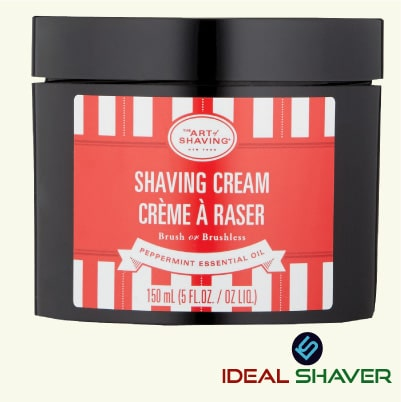 The Art of Shaving Shaving Cream, Peppermint, 5 Fl Oz