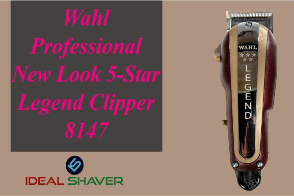 Wahl Professional New Look 5-Star Legend fades Clipper -8147