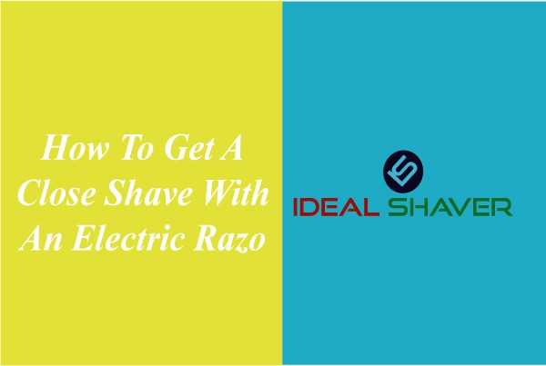 close shave with an electric razor