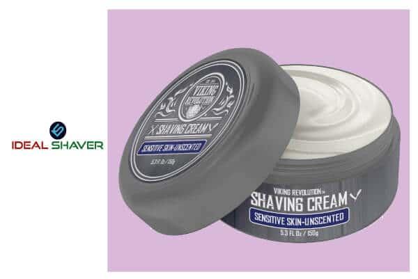Luxury Shaving Cream for Sensitive Skin
