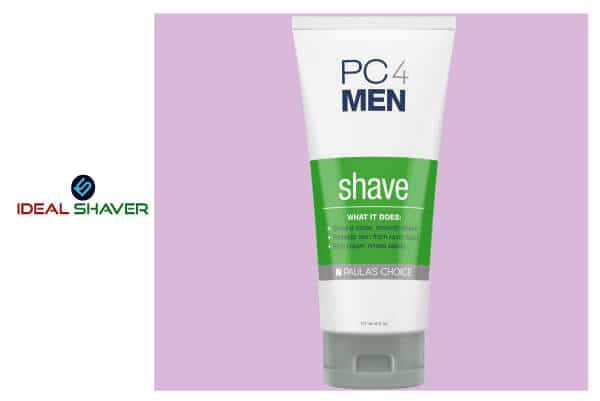 Paula's Choice PC4MEN Unscented Shaving Cream with Coconut Oil