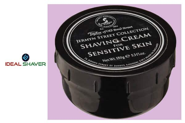 Taylor of Old Bond Street Jermyn Street Luxury Shaving Cream for Sensitive Skin
