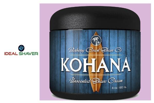 Unscented Kohana Shaving Cream