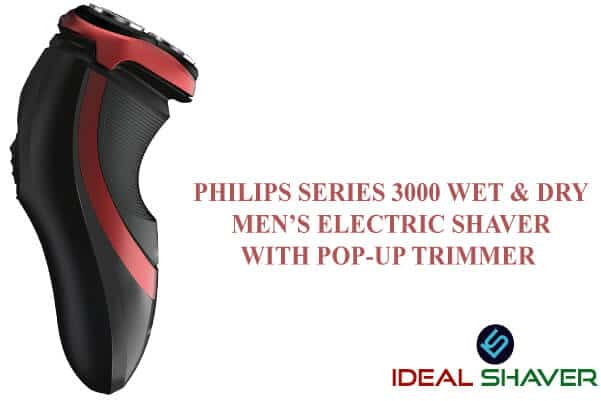 Philips series 3000 wet & dry men's electric shaver with pop-up trimmer review