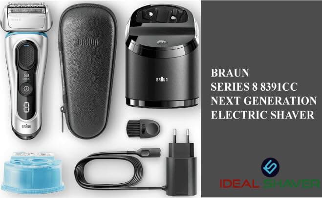 Braun Series 8 8391cc Next Generation Electric Shaver