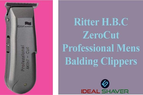 Ritter H.B.C ZeroCut Professional mens balding clippers
