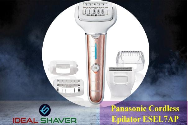 Panasonic Cordless Shaver Epilator ESEL7AP